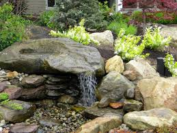 Rock Water Features For The Garden Pondless Water Features Installing And Winterizing Your Pondless