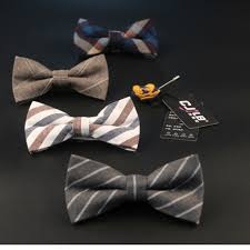33color s cotton plaid striped bow tie fashion