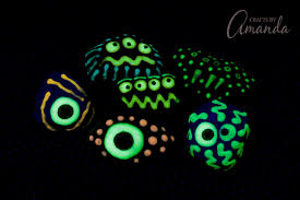 glow in the glow in the rocks a glowing craft