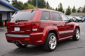 jeep grand cherokee srt red 2009 jeep grand cherokee srt 8 4x4 northwest motorsport