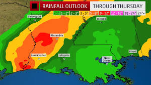Map Of New Orleans Usa by Tropical Storm Harvey Brings Flood Tornado Threats To Louisiana