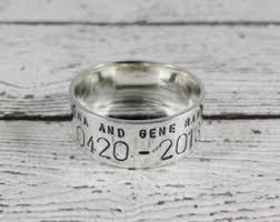 Duck Band Wedding Rings by Gold Duck Band Etsy