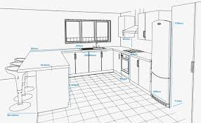how to plan a kitchen trendy kitchen floor plan ideas open plan amazing concept plan of a kitchen with standard appliance and unit with how to plan a kitchen