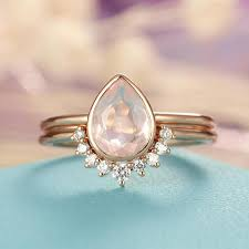 quartz engagement ring quartz engagement ring gold engagement ring vintage
