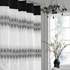Shower Curtain 36 X 72 Luxury Fabric Shower Curtain Foter