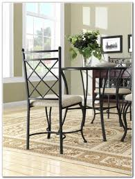 wrought iron dining room table and chairs dining room home