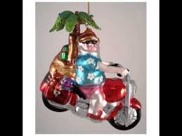 motorcycle tree ornaments