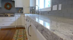 contemporary river white granite kitchen countertop kitchens by