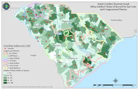 South Carolina Zip Code Map by Geographic Information Systems Scng South Carolina National Guard