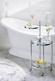 from a tub side caddy to an auxiliary vanity our belmont rolling