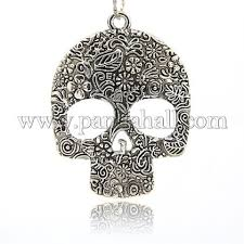 wholesale day of the dead ornaments tibetan style alloy large