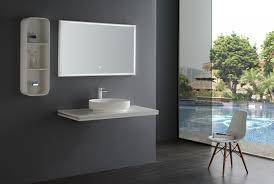 mensola lavabo da appoggio mensola sospesa per lavabo da appoggio in mdf smart line bianco