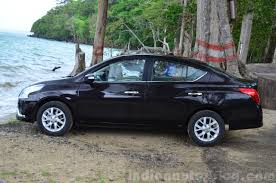2014 nissan sunny facelift diesel review side indian autos blog