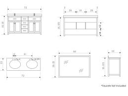 bathroom sink size guide sink sink bathroom cabinets alya bath at double modern sizes