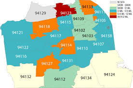 Zip Code Map San Jose by San Francisco Home Prices Hit An All Time High In Q2 2015
