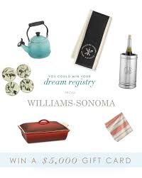 wedding registry gifts wedding registry gifts 100 win a 5 000 gift card from