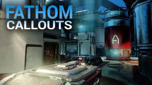 Arena Maps Halo 5 Callouts Fathom Arena Map Youtube