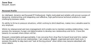 Examples Of A Resume Profile by Charming Example Of A Skills Based Resume 79 For Create A Resume