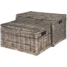 furniture rattan trunk wicker trunk large wicker storage