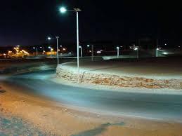 Solar Led Street Lighting by Solar Led Street Lighting Lu2 In Atacama Desert Chile