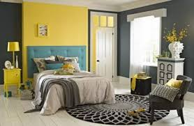 Yellow And Grey And Blue Bedroom  Laptoptabletsus - Grey and yellow bedroom designs