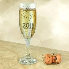 new years chagne glasses happy new year 2018 6oz chagne flute glass