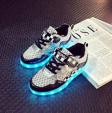 light up tennis shoes for new child sports light up shoe for kids big girls boy sparkle