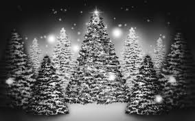 white christmas tree wallpapers u2013 happy holidays