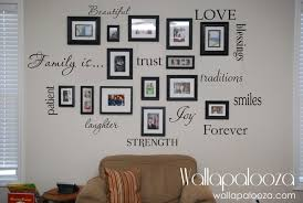 Family Wall Decal Set Of  Family Words Family Room Wall - Family room walls