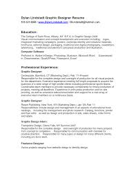 Graphic Designer Resume Graphic Designer Resume Template Sample With Education And