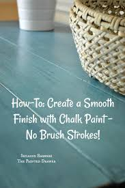 can chalk paint be used without sanding how to tuesday create a smooth finish with chalk paint no