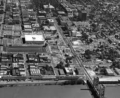Sacramento City Flag Sections Of The Downtown Sacramento Bulldozed 1960 Japantown