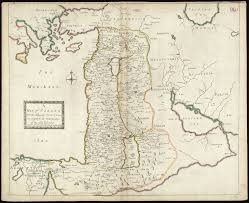 Middle East Map Israel by Map Of Canaan From 1692 Map Israel Palestine Middleeast