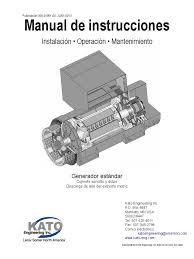 kato generador estándar cojinete sencillo y doble