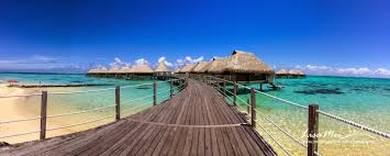 first time staying in overwater bungalow missvacation