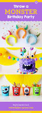 Halloween Themed Birthday Party Supplies by Best 20 Monster Birthday Parties Ideas On Pinterest Monster