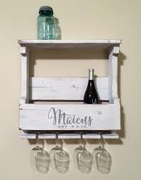 amazing wedding gift wine rack wall mounted wine rack personalized