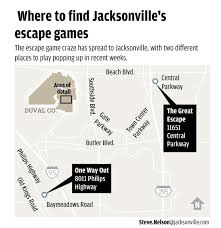 sixty minutes to escape hands on game craze arrives in jacksonville
