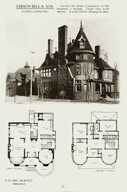 eej tooker plan 1893 vintage house plans pinterest