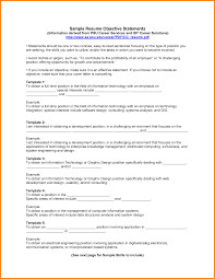 13 example of resume objective resume reference