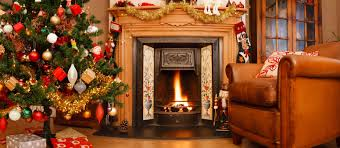 homes decorated for christmas home design