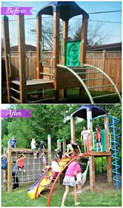 backyards excellent small wooden swing sets for kids intended