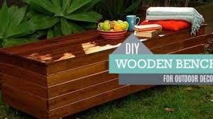 diy outdoor storage bench tutorial diy joy