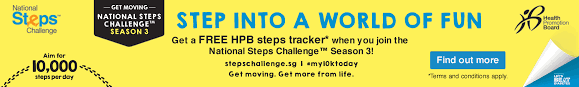 Challenge Steps National Steps Challenge The New Paper Big Walk 2017 Barcode