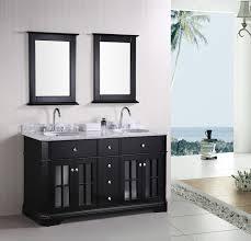 Bathroom Vanity And Top Combo by Vintage White Vanity Combo Sink On Brown Harwood Floor Also Wooden