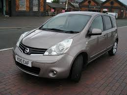 nissan note 2010 nissan note 1 6 tekna 5dr automatic for sale in ellesmere port