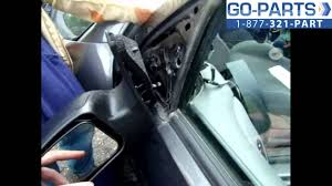 replace 2003 2007 ford focus side rear view mirror how to change