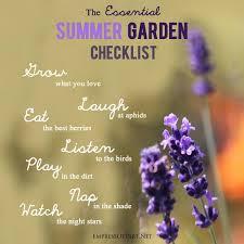 Summer Gardening - july garden tasks empress of dirt