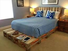 how to make a cheap pallet bed frame pallets designs