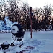 easy winter dinner weber